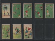 Chinese cigarette cards tobacco cards Football set